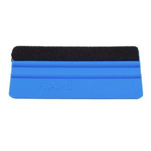 Outil de raclette durable de racloir d'emballage de feutre de pp pour la couleur bleue de film de fenêtre de voiture