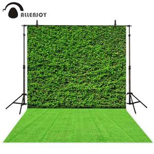 Atacado foto fundo photocall planta verde decoração da parede grama festa ao ar livre celebração atividade fotografia backdrops