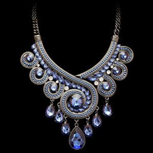 Maxi Necklace Luxury Collar Multi Layer Vintage africano perline Collane Pendenti Gipsy Style donna Collana Statement NP041