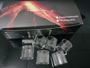 TFV12 Prens TFV8 için temizle Cam Tüp Bebek V2 TFV-Mini V2 Resa Bebek Sopa V8 M17 Prens TFV4