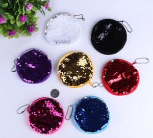 색상을 선택할 수 있습니다 친환경 10cm 다채로운 미니 인어 장식 조각 라운드 키즈 동전 가방 파우치 지갑 지갑 사랑스러운 선물 (9)