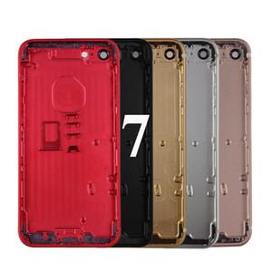 """آيفون 7 7G 4.7 """"الإسكان غطاء البطارية الباب الخلفي غطاء الهيكل الإطار الخلفي فون 7 المساكن، وحرية الملاحة"""