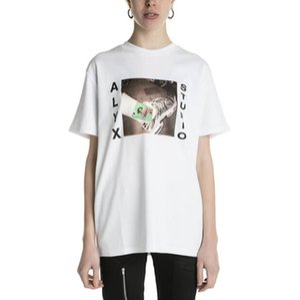 New Herren Designer-T-Shirt Kurzarm AL STUDIO Mode Marken-Schuhe Muster-Druck-Frauen Street Tops