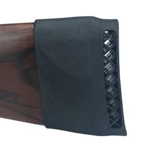 Acessórios de Arma de Caça Tourbon Tactical Airsoft Shotgun Recoil Pad Buttstock Almofada De Borracha Rifle de Tiro Slip-on