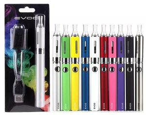 Evod MT3 Blister Starterkits E-Zigarette Kit mt3 Tanks e Zigarette EVOD Zerstäuber Clearomizer Evod Batterie