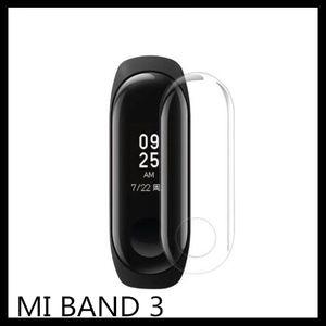TPU Screen Protector per Xiaomi Mi Band 3 Soft TPU Screen Guard per mi band 2 smart braccialetti di protezione Clear film 9H
