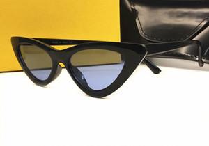 2018 neueste kühle Sexy Katzenaugen-Sonnenbrille-Frauen-Dame-Sonnenbrillen weiblicher Jahrgang Shades Brillen Gafas UV400 mit Kasten