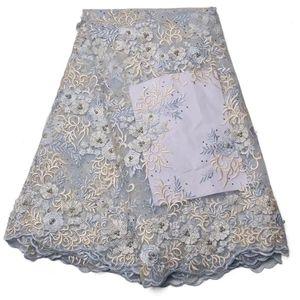 Африканский тюль кружевной ткани французский чистая кружева с beadings тюль гипюр кружева Нигерии GYNL0064 вышивки