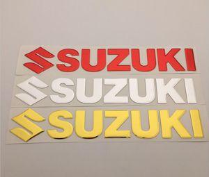 Adesivo decalcomania per badge carburatore da 25 cm per SUZUKI Racing Motorcycles