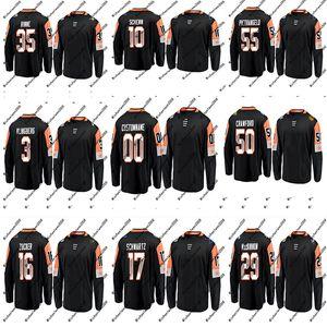 2018 All-Star Central Division Trikot 35 Pekka Rinne 50 Corey Crawford 29 Nathan MacKinnon 55 Alex Pietrangelo Benutzerdefinierte Hockey Trikots