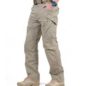 IX7 IX9 City Tactical Cargo Pants Men Combat Army Military Pants Cotton Many Tasche Stretch Uomo flessibile Pantaloni casual XXXL