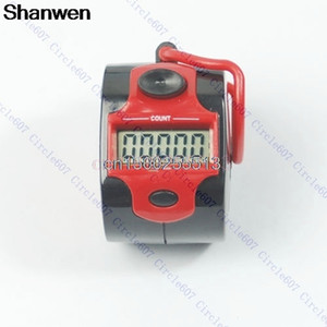 Mini Digit Counter Electronic Digital Red 5 Digit Hand Tally Counter
