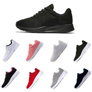 TANJUN rojo blanco con blanco negro con rosa London Olympic Runs Outdoor Men Women Zapatillas deportivas clásicas Fashion Trainer Designer