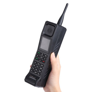 Estilo Retro Big Brother Antena Do Telefone Móvel Bom Banco De Potência Do Sinal Extrovertido FM Lanterna Bluetooth Lanterna GPRS Dual Sim Card Telefone