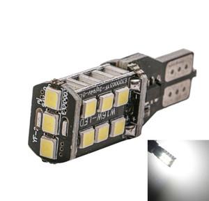 Lampadina T15 W16W 15 LED 2835 SMD Canbus NESSUN ERRORE Lampada di retromarcia per auto Retromarcia Indicatore di direzione bianco per DC 12V