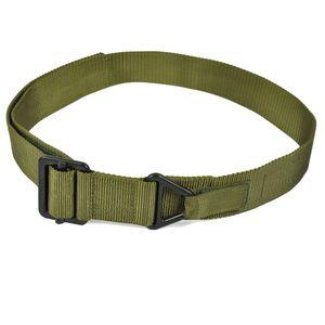 Cintura tattica Nylon BLACKHAWK uomo CQB Salvataggio di emergenza regolabile Cintura Safaty Combat Rigger Duty cintura in vita