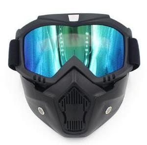 2018 Brand New Men Women Ski Snowboard Eyewear Motocicleta Motocross Racing Goggles Deportes al aire libre Gafas de esquí Máscara Gafas de sol
