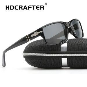 HDCRAFTER Moda Uomo polarizzata guida occhiali da sole di Mission Impossible Tom Cruise legame Occhiali da sole