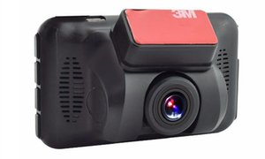 Cámara de parabrisas de 1080p DVR de 3 pulgadas para el auto cámara HD del tablero del auto 140 grados ángulo de visión amplio WDR Monitor de estacionamiento de grabación en bucle del sensor G
