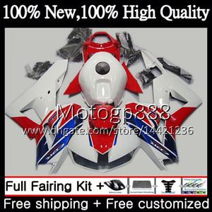 Injection Pour HONDA CBR600 RR CBR600RR F5 13 14 15 16 17 62PG13 CBR 600RR 600 RR F5 2013 2014 2015 Rouge Blanc 2016 2017 Carénage Carrosserie