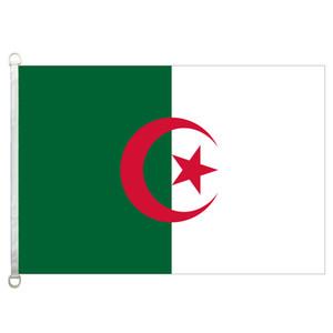 [Хороший флаг]Алжир флаги баннер 3x5ft-90x150cm 100% полиэстер флаги стран, 110gsm деформация трикотажные ткани открытый флаг