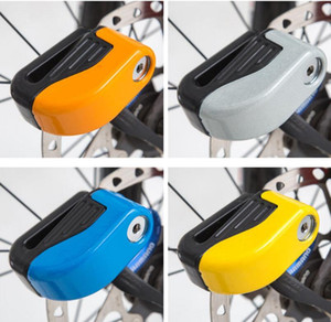 Safety alarming Bicycle Lock Disc Brakes Locks Bike Mountain Anti Theft Security Safety warning lock outdoor cycling bicycle Accessories