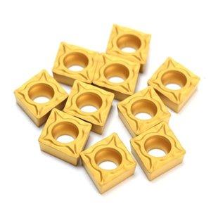 10pcs CCMT060204-HM YBC251 Carbide Insert Titanium Carbide Cutter Cutter