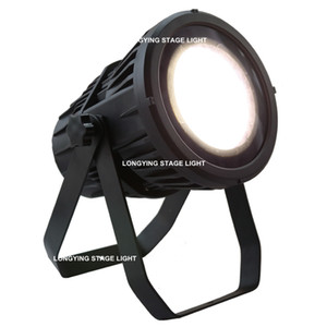 Free Shipping COB Outdoor 200W Warm&Cold White Color Waterproof LED Par Light IP65 Disco DJ Stage Light