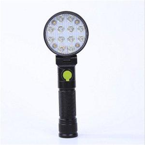 Nouveau Magnétique LED Voiture Camion Inspection Réparation Lampe Lampe Garage À La Main En Plein Air Camping Travail Lampe De Poche Q0489