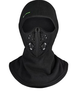 Inverno Maschera Cap Thermal Fleece Ski Mask Face Snowboard Shield Hat Cold Headwear Ciclismo Maschera Fiter Sciarpa