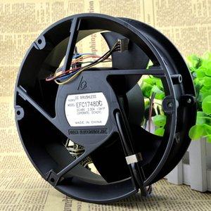 Para Delta EFC1748DG 17251 48V 2.30A Quatro linhas Inversor Violento Equipamento de Comunicação Ventilador