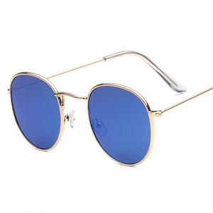 Lunettes de soleil vintage Oulylan pour femmes tendance cadre cadre lunettes revêtement de mode miroir réfléchissant lunettes UV400 lunettes