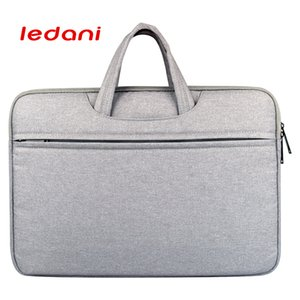 LEDANI impermeabile indeformabile 14 pollici Computer Notebook Laptop Bag per le donne cartella degli uomini Shoulder Bag Messenger Computer