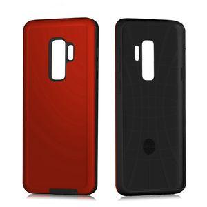 Nuevos coloridos de vidrio templado cáscara del teléfono móvil teléfono celular casos para el caso protector de Samsung S9 Plus de teléfono móvil MPS4