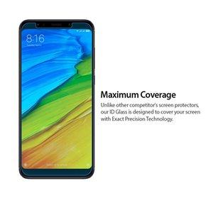 Für Xiaomi Redmi NOTE 5 PRO gehärtetes Glas 9H 2.5D Premium Oberflächenhärte Kristallklarer Displayschutz Schutzfolie für Xiaomi-Serie