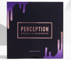 IN STOCK 2018 NEWEST PERCEPTION SHAYLA X COLOURPOP SHADOW PALETTE 16 COLORS Makeup Eye shadow Palette Shimmer Eyes DHL shipping