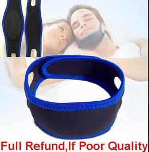Venta caliente Neopreno Anti ronquido Correa de barbilla Detener ronquido Cinturón Anti apnea Solución de la mandíbula Dispositivo para dormir