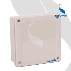 160 * 160 * 60MM IP67 ABS تقاطع مربع / البلاستيك المسمار نوع الضميمة للماء (SP-02-161660)