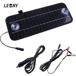 LEORY Горячая 12 В 4.5 Вт Панели Солнечных Батарей Портативный Монокристаллический Модуль Солнечного Зарядного Устройства Для Автомобиля Автомобильная Лодка Аккумуляторная Батарея Питания