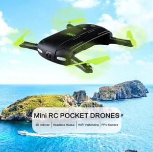 JJRC DHD D5 Selfie FPV Drone Avec HD Caméra Pliable Drones de Poche RC Contrôle Téléphone Hélicoptère Mini Drone JJRC H37 523 Quadricoptère