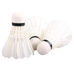 Reiz 12 PÇS / tubo petecas badminton pena branca petecas concorrência profissional e acessórios de badminton jogo new chegou quente