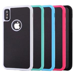 Para iphone 8 x 7 6 s 6 plus anti-gravidade telefone case magic sticks anti gravidade nano capa de sucção para iphone xr xs max