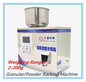 Máquina automática de estante 2-200g 220V / 110V Máquina de llenado inteligente Dispositivo de subpaquete para Granular / polvo