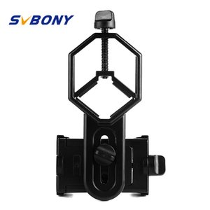 Adaptador universal para montar binoculares Monocular telescopio ocular de soporte telefónico para telescopio D: 25-48 mm para telescopio W2546A