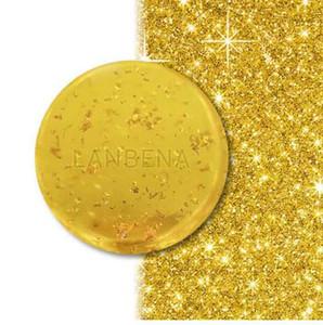 24K Gold Handmade Soap Anti-Aging Seaweed Deep Cleansing Moisturizing Nourishing Whitening Anti-Wrinkle Beauty Face Care
