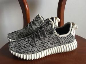 2019 nuevos zapatos calientes del Kanye West V1 Oxford Tan Moonrock pirata Negro paloma de la tortuga zapatos para correr 1s zapatos deportivos lzfsport