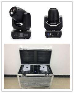 6 piezas con flightcase 3-face prism Pro 150W led spot zoom cabeza móvil 150w led cabeza móvil spot light