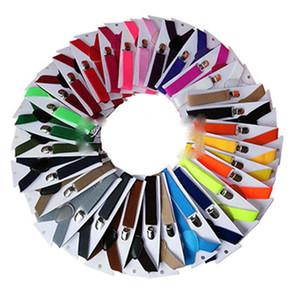 42 couleurs Enfants réglables solides bébé ELASTI Suspenders Braces Kid Suspenders pince 2,5 * 65cm E639
