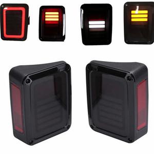 1 Satz Neue Modell Rücklicht 12 V Led Rücklicht mit Laufbremse und Rücklicht Für Jeep Wrangler JK 2007 2014