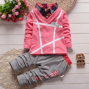 2018 spring autumn baby boy clothing sets toddler infant boys sport suit for little boys 2pcs clothes tracksuit set